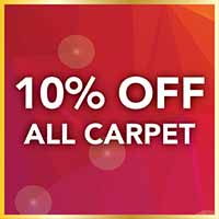 10% off all carpet during our Gold Tag Flooring Sale