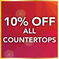 10% off all countertops during our Gold Tag Flooring Sale
