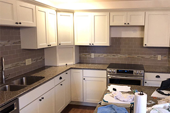 Cabinet Projects by Professional Floor Covering Inc. - An Abbey Design Center - Beaver Dam, Wisconsin
